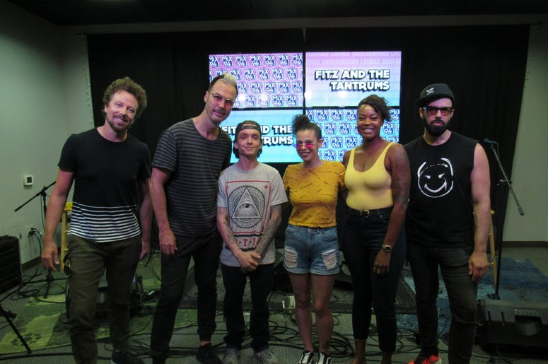 Fitz and The Tantrums Meet and greet 5