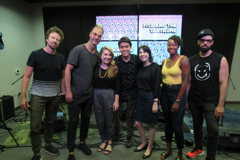 Fitz and The Tantrums Meet and greet 6