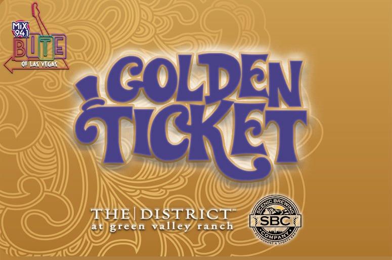 Golden Ticket Bite Of Las Vegas