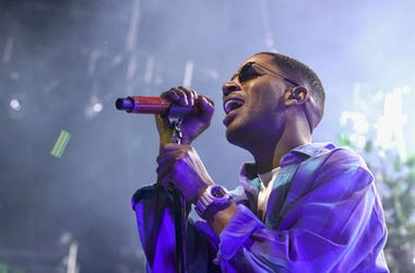 Recording artist Kid Cudi performs onstage at night one of the 2017 BET Experience STAPLES Center Concert, sponsored by Hulu, at Staples Center on June 22, 2017 in Los Angeles, California