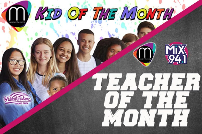Kid And Teacher Of The Month