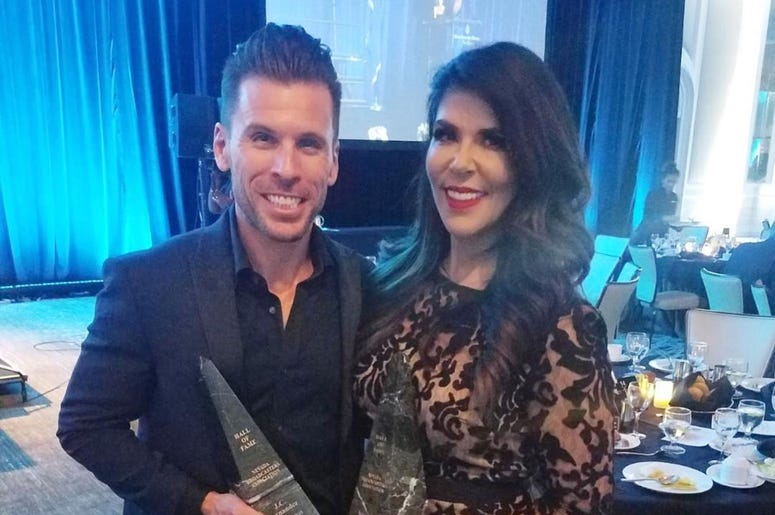Mercedes Martinez Honored with Hall of Flame, Airblazer Awards