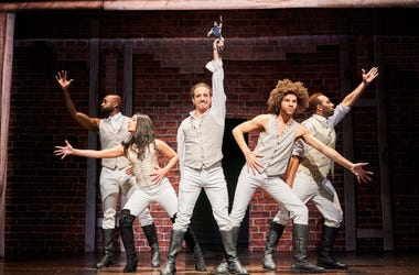National Tour Cast of SPAMILTON An American Parody