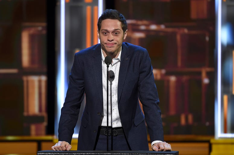 LOS ANGELES - AUGUST 27: Pete Davidson onstage during the 'Comedy Central Roast of Rob Lowe' at Sony Studios on August 27, 2016 in Los Angeles, California. (Photo by Frank Micelotta/PictureGroup)