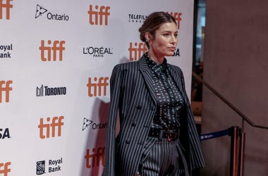9/6/2019 - Actor Jessica Biel on the red carpet at the gala presentation of 'Limetown' at the Tiff Lightbox Theatre, Toronto, for the Toronto International Film Festival 2019 (Photo by PA Images/Sipa USA)