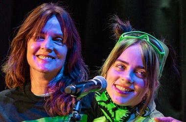 Billie Eilish and mom Maggie Baird; Sept. 20, 2019