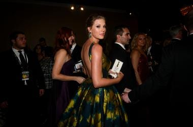 """Pop star Taylor Swift was nominated for an original song for \""""Cats.'' Taylor Swift at Golden Globe"""
