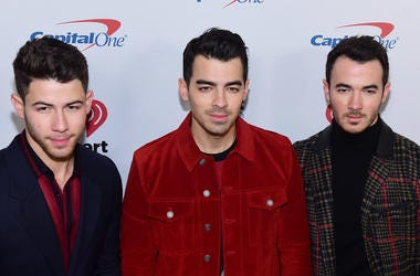The Jonas Brothers - Nick Jonas, Joe Jonas and Kevin Jonas arrive at iHeartRadio's Z100 Jingle Ball 2019 Presented By Capital One on December 13, 2019 in New York City, NY. (Photo by Jeremy Smith/imageSPACE/Sipa USA)