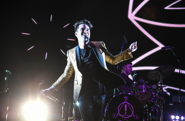 Panic! at the Disco performs at the Riptide Music Festival