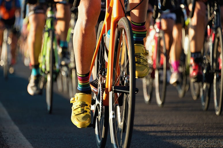 bike riders