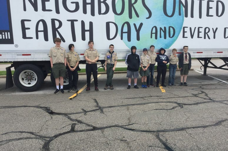 Goodwill Earth Day Drive at Dierbergs with HaZe