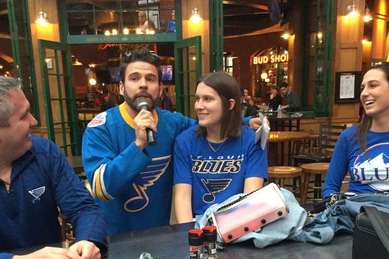 Blues Watch Party at Ballpark Village with HaZe