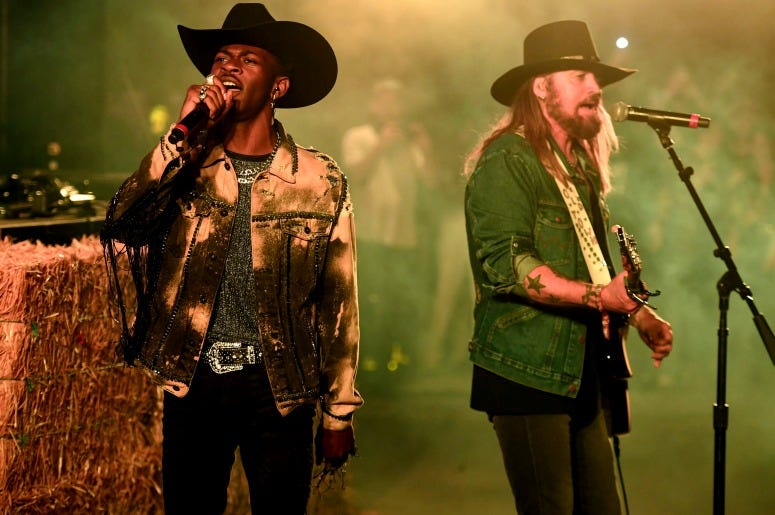 Lil Nas X and Billy Ray Cyrus