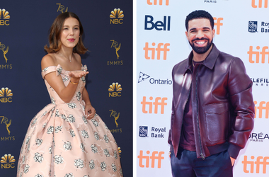 Millie Bobby Brown and Drake