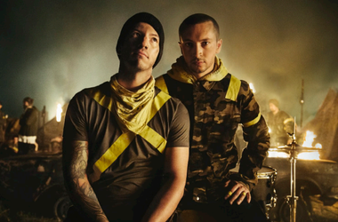 Twenty One Pilots, the critically acclaimed duo of Tyler Joseph and Josh Dun