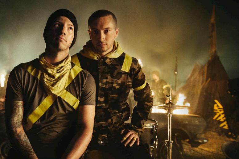 Twenty One Pilots, the critically acclaimed duo of Tyler Joseph and Josh Dun