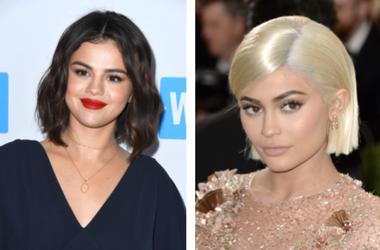 Kylie Jenner, Selena Gomez