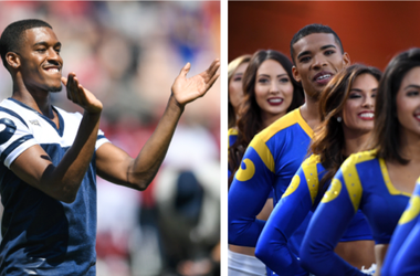 LA Rams Male Cheerleaders