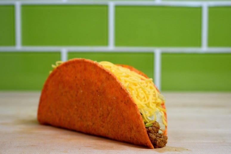 Doritos Locos Tacos from Taco Bell