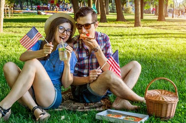 Stars and Stripes Couple