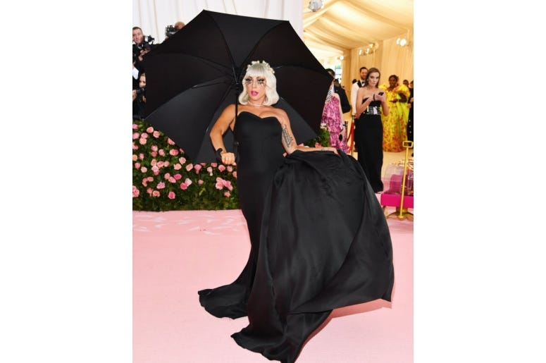 Lady Gaga at the Met Gala 2019