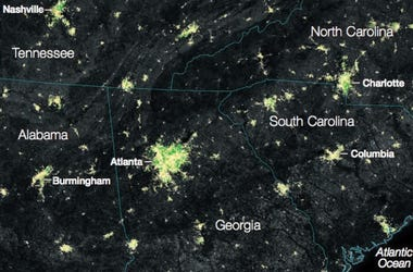 NASA lights