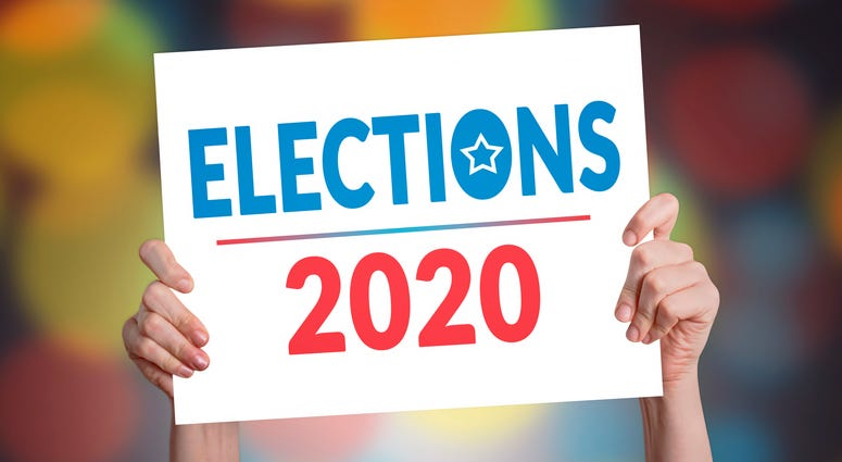Elections 2020 Card