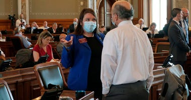 Kansas legislature; masks