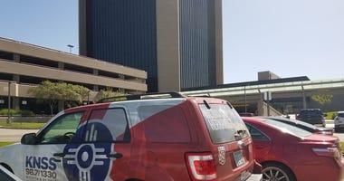 A view of Wichita City Hall