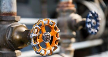 Gas leak