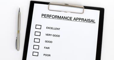 Performance appraisal checklist