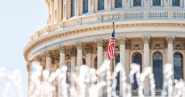 US capitol in Washington D.C.