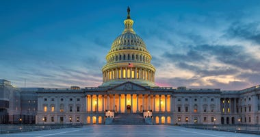 House passes defense funding bill, Trump vows veto