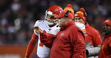 Chiefs hosting the Chargers in week 17