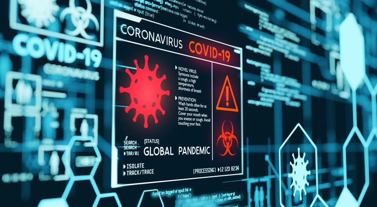 Coronavirus Covid-19 global pandemic data visualization