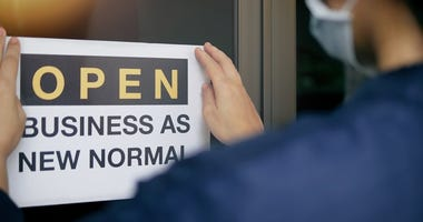 Businesses around the country re-opening