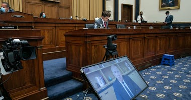 U.S. tech giants grilled on Capitol Hill
