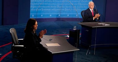 A look back at 2020's only vice presidential debate