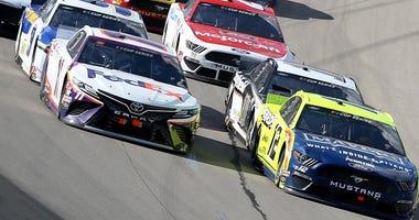 NASCAR finally returns to Kansas