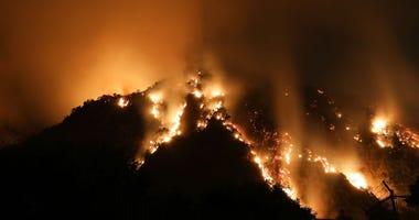 Wildfires continue to devastate California