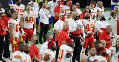 The Kansas City Chiefs prepare for the Buccaneers