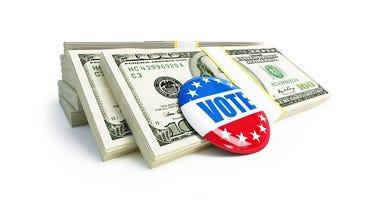 Kansas lawmakers seeking federal offices free to raise money