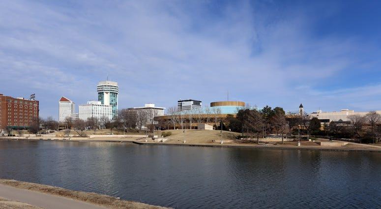 A view of the skyline of Wichita, Kansas