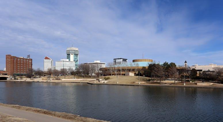 Skyline of downtown Wichita, Kansas