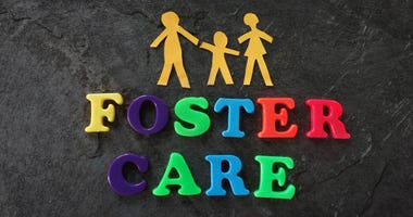 Illustration of the word Foster Care