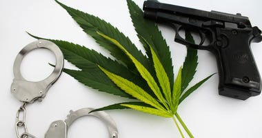 guns, marijuana