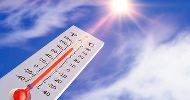 A very hot summer weekend ahead