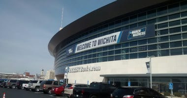 Intrust Bank Arena in downtown Wichita