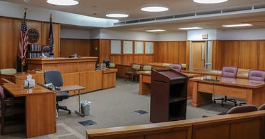Sedgwick County courtroom