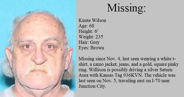 KBI issues a Silver Alert for missing Salina Man